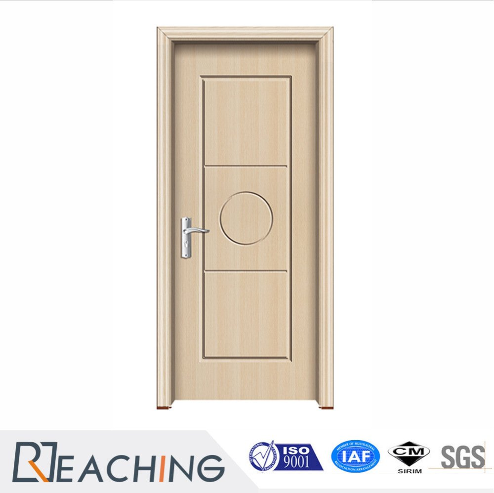 Simple Design Melamine Wood Veneer Solid Doors Wooden Doors for Interior Rooms