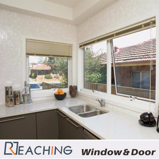 Aluminium Kitchen Awning Windows with Hollow Double Glass for Individual House