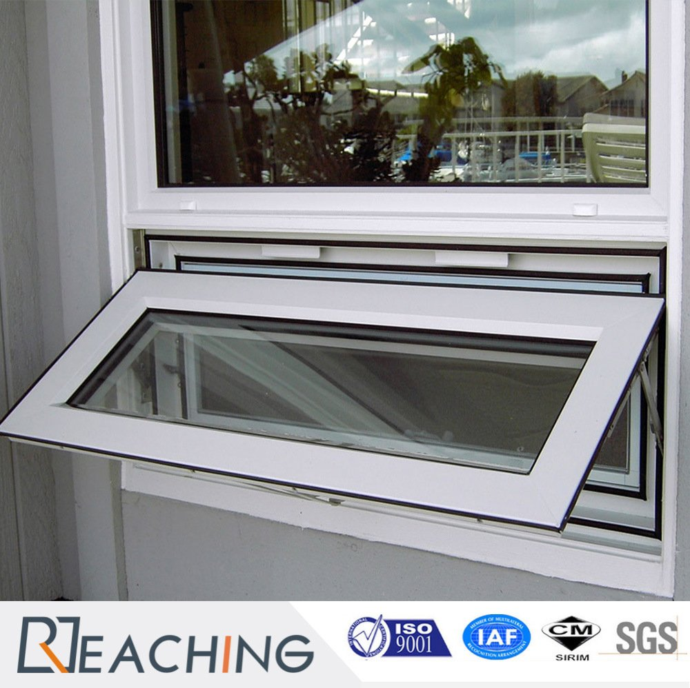 Cheap Price PVC / UPVC Awning Window Top Hung Window From China Factory