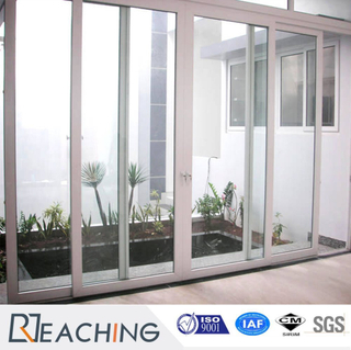 Garden UPVC Sliding Door Noise Proof Water Proof Window