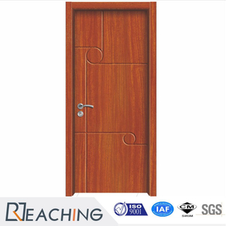 PVC Vinyl Surface Fnish MDF Wooden Door Fashion Design