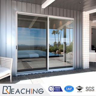 108mm Series Sliding Open PVC Glass Door with EXW Price
