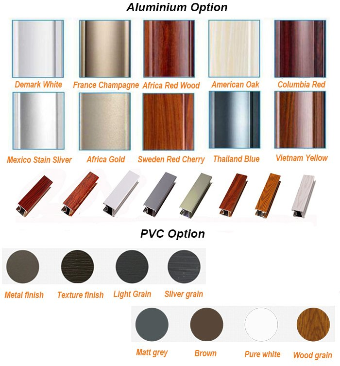 Golden Color Luxury Aluminium Window Seal Strip with Hot Break Structure on Profile and Glass