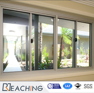 Double Insulated Low-E Glass Filled Argon Gas PVC Sliding Window