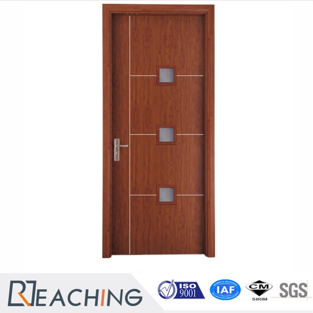 Good Quality Solid Wood Composit Interior Door for Apartment with Modern Style