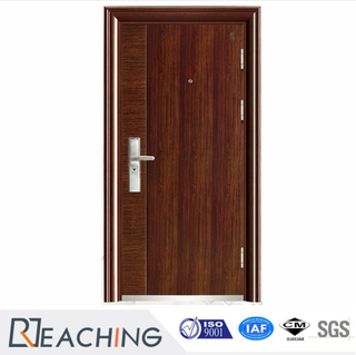 China Gold Supplier High-Ranking Turkey Style Armored Steel Wooden Door