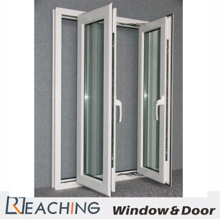 Two Side Folding Open Four Leaf Aluminium Window with Soundproof
